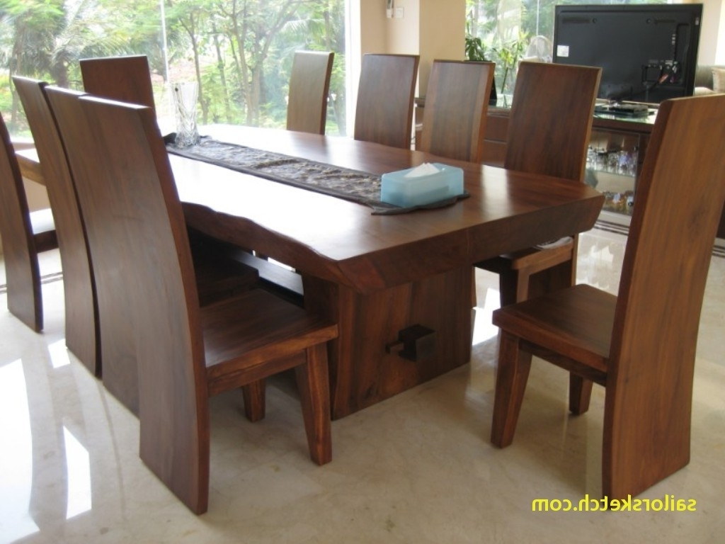 Second Hand Solid Dark Wood Dining Table Archives – Sailorsketch With Newest Solid Dark Wood Dining Tables (View 25 of 25)