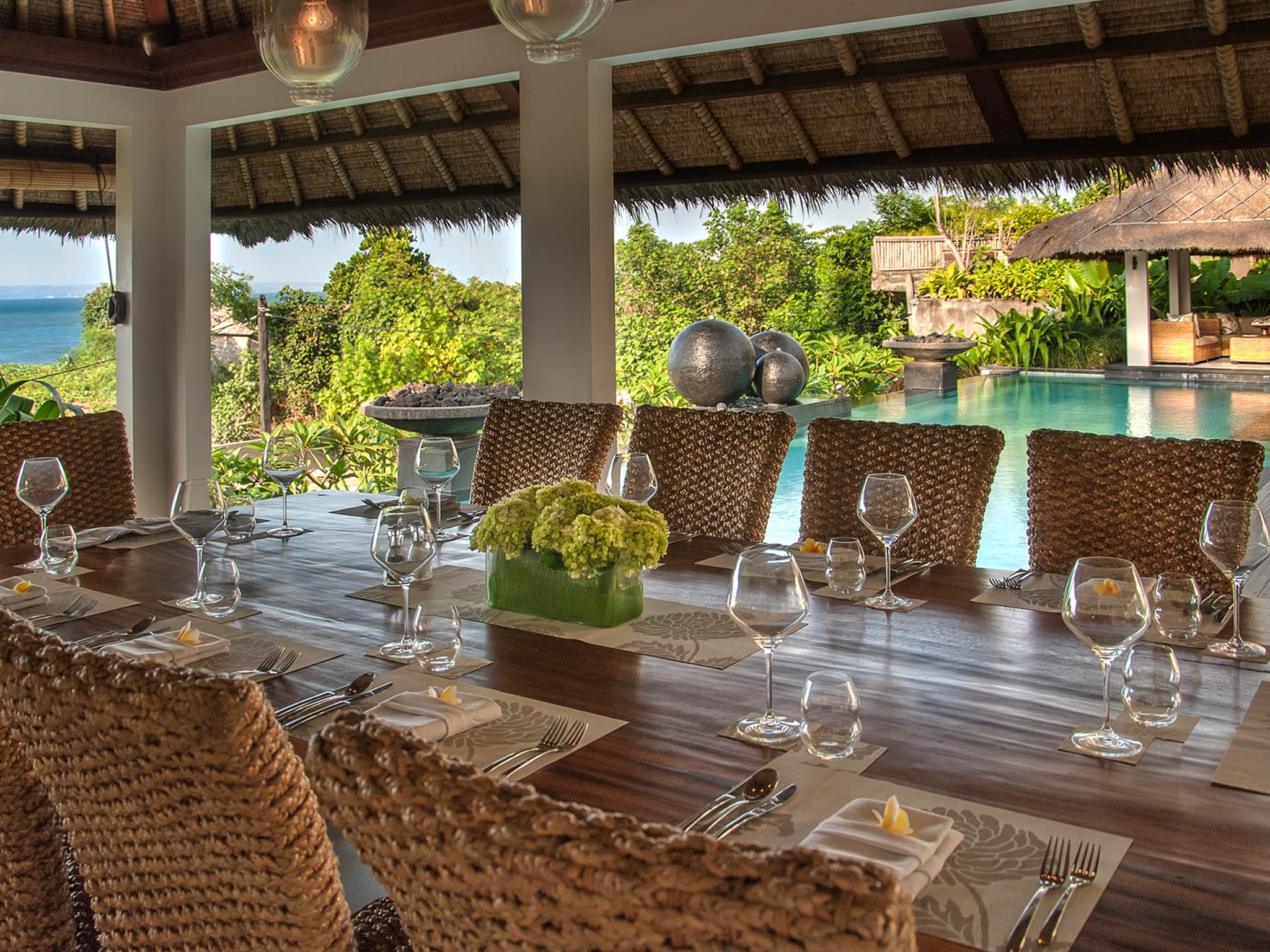 Seseh Beach Villa I – An Elite Haven In 2017 Bali Dining Sets (View 20 of 25)