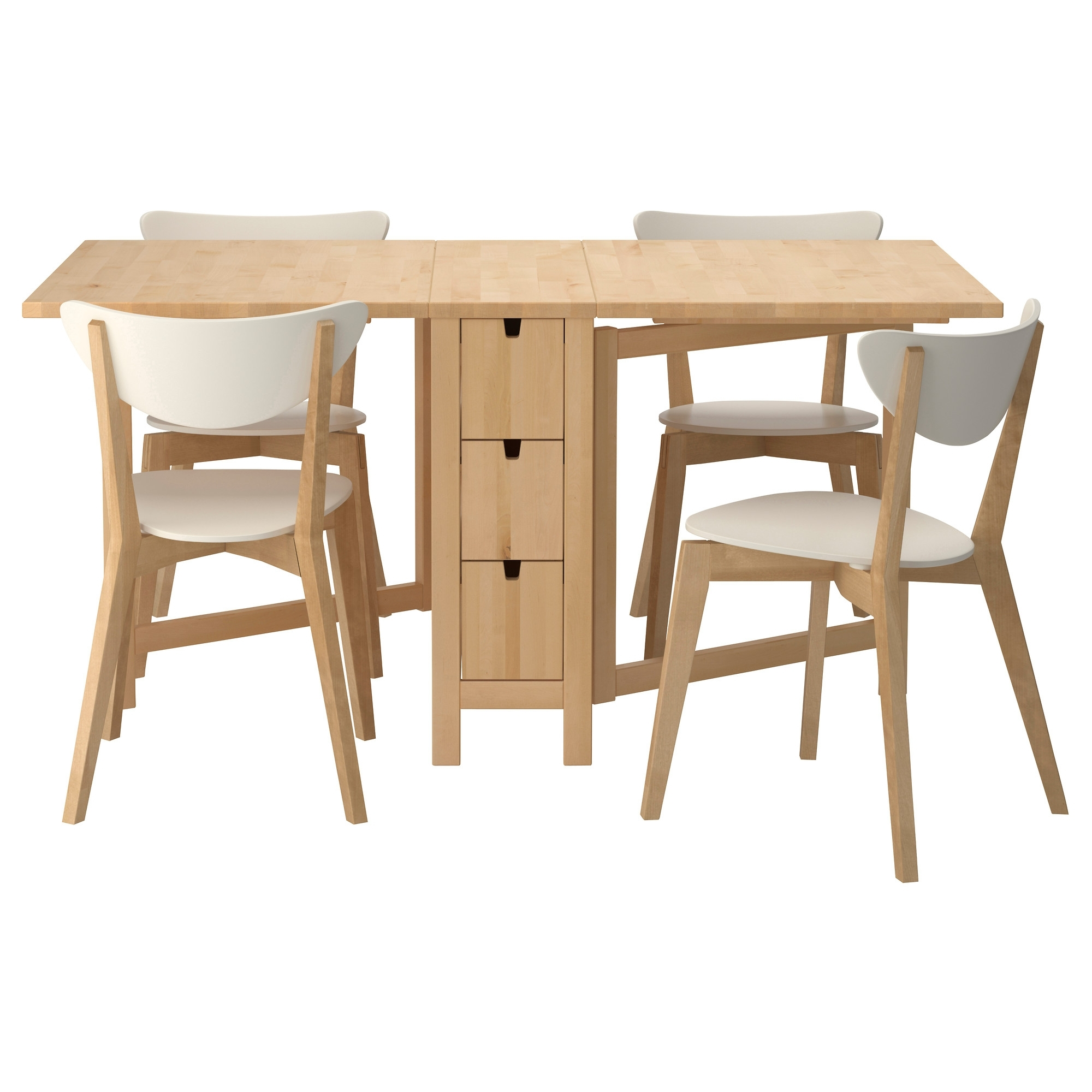 Sets Kendal Table Depot Childs Side Mounted White End Gateleg Hinges With 2017 Dining Tables With Fold Away Chairs (View 18 of 25)