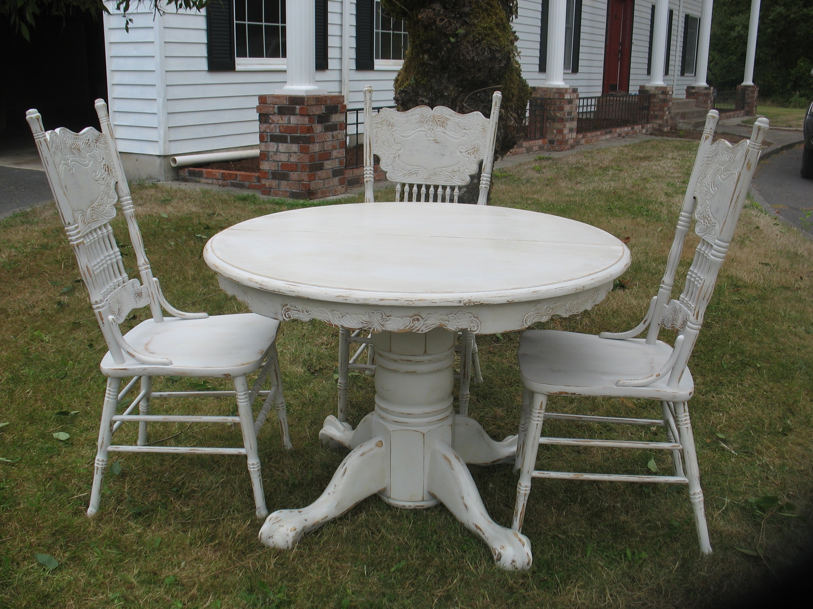 Shabby Chic Table (View 22 of 25)