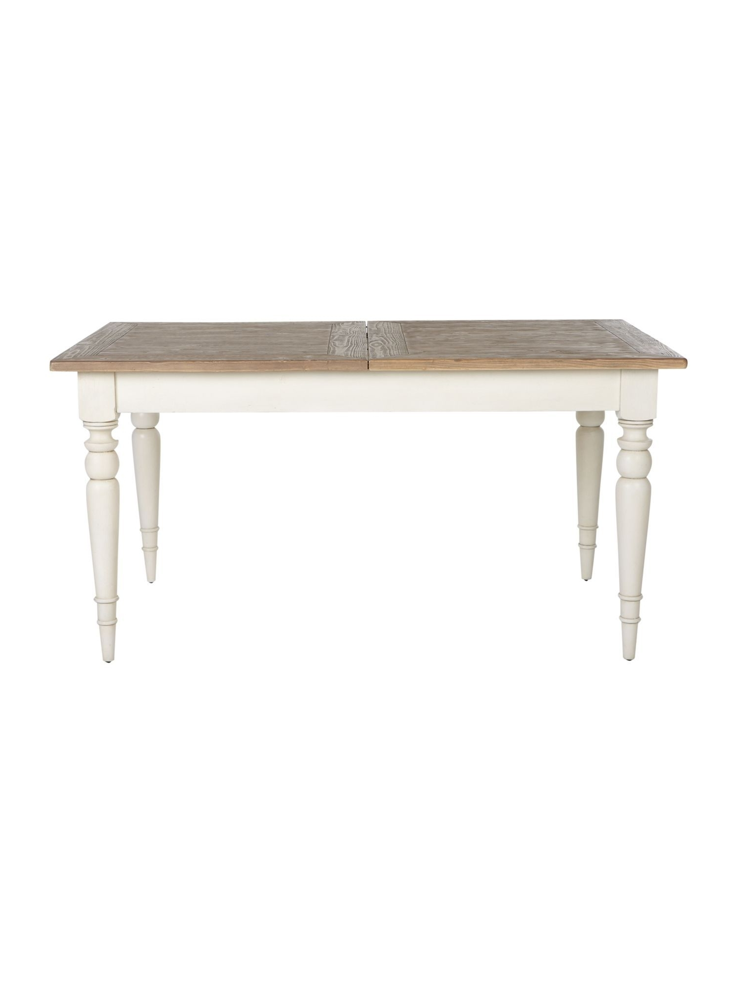 Shabby Chic Willow 155Cm Extending Dining Table – House Of Fraser Intended For Trendy Shabby Chic Extendable Dining Tables (View 2 of 25)