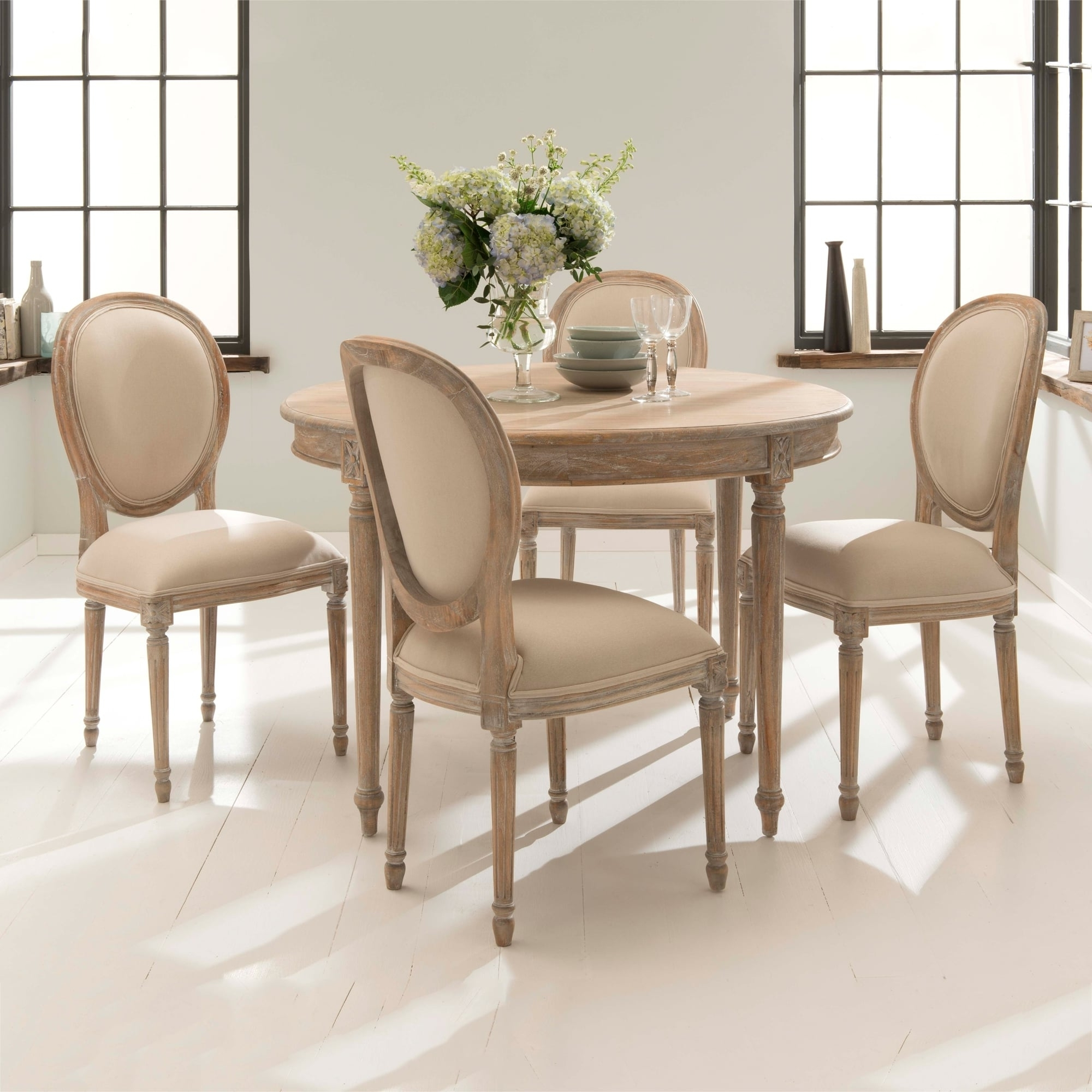 Featured Photo of French Chic Dining Tables