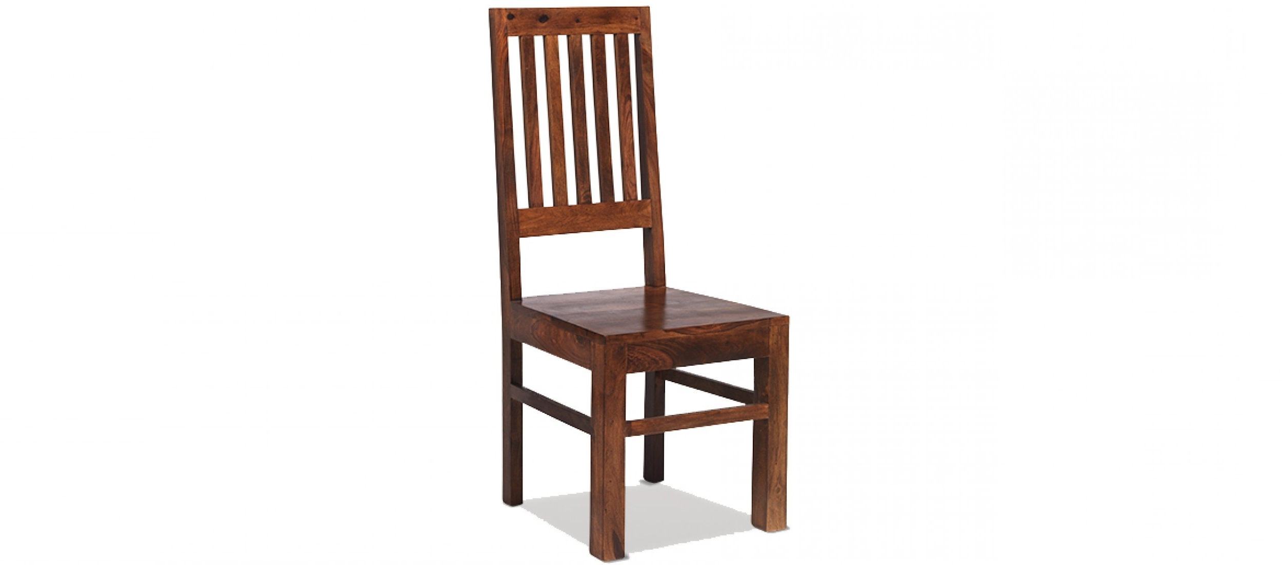 Sheesham Dining Chairs Regarding Most Up To Date Jali Sheesham High Back Slat Dining Chairs – Pair (View 24 of 25)