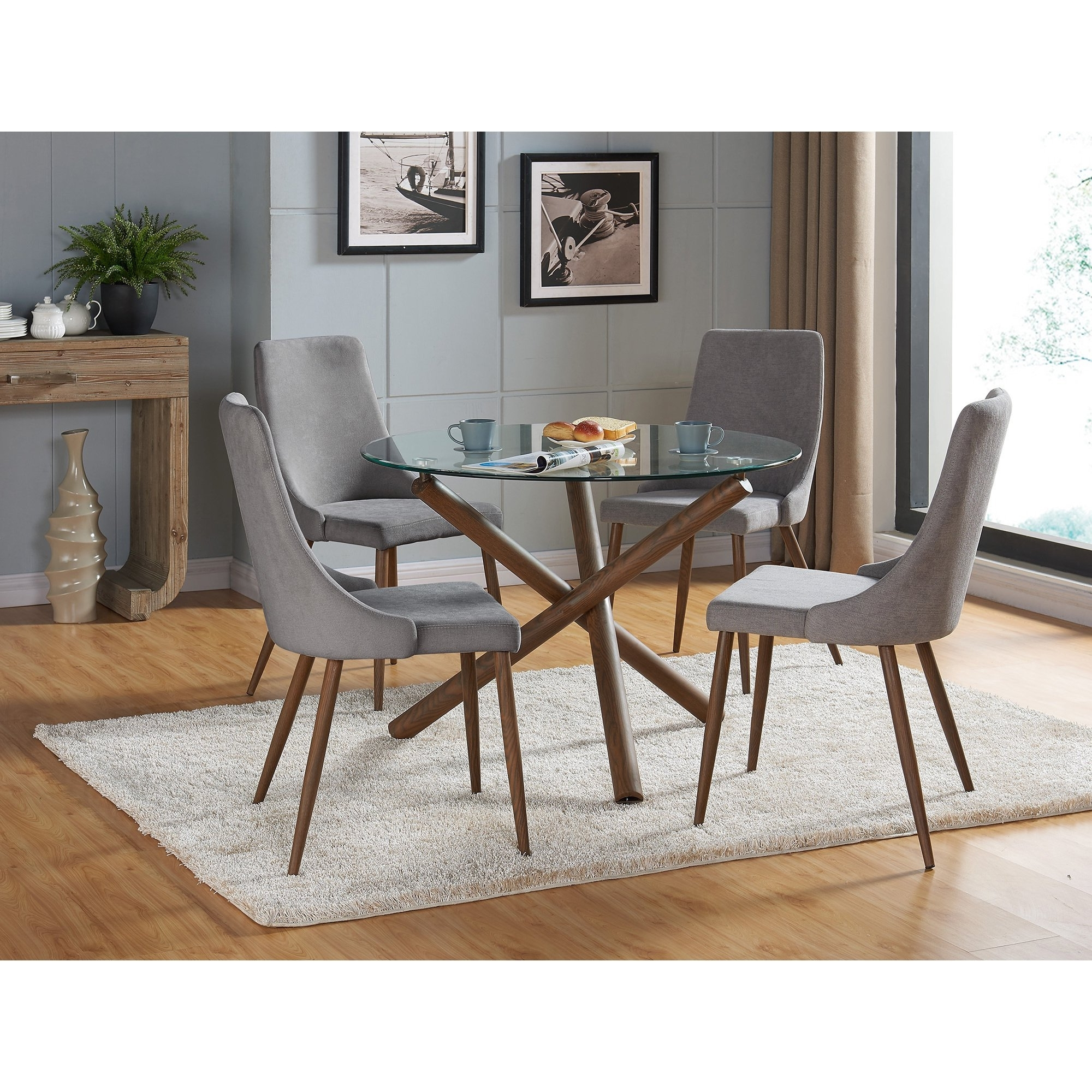 Shop Carson Carrington Kaskinen Dining Chair (Set Of 2) – Free For Current Cora 7 Piece Dining Sets (View 21 of 25)