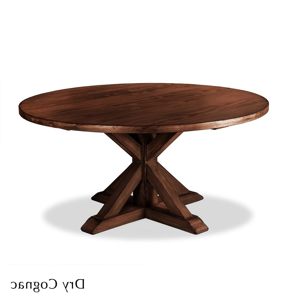 Shop La Phillippe Reclaimed Wood Round Dining Table – Free Shipping Throughout Well Known Oval Reclaimed Wood Dining Tables (View 18 of 25)