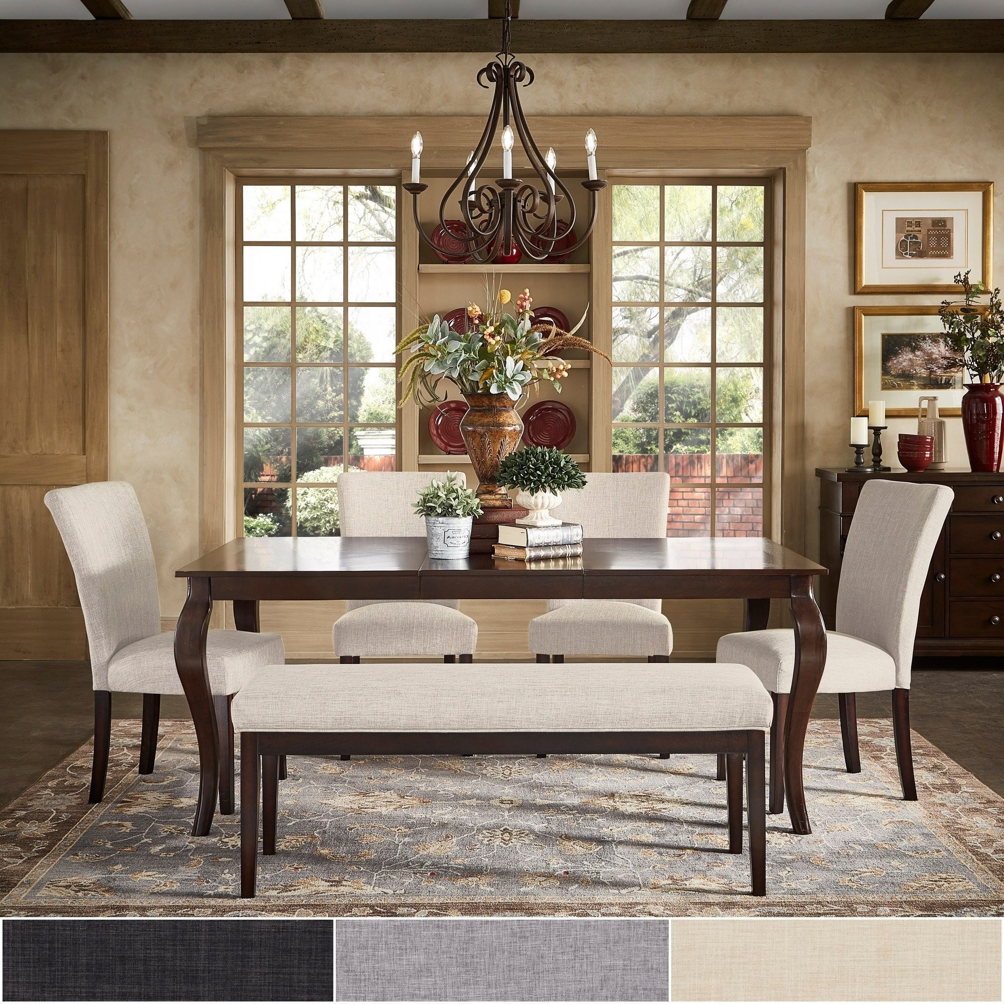 Shop Pranzo Rectangular 72 Inch Extending Dining Table And Set With With Latest Extending Dining Tables Set (View 20 of 25)