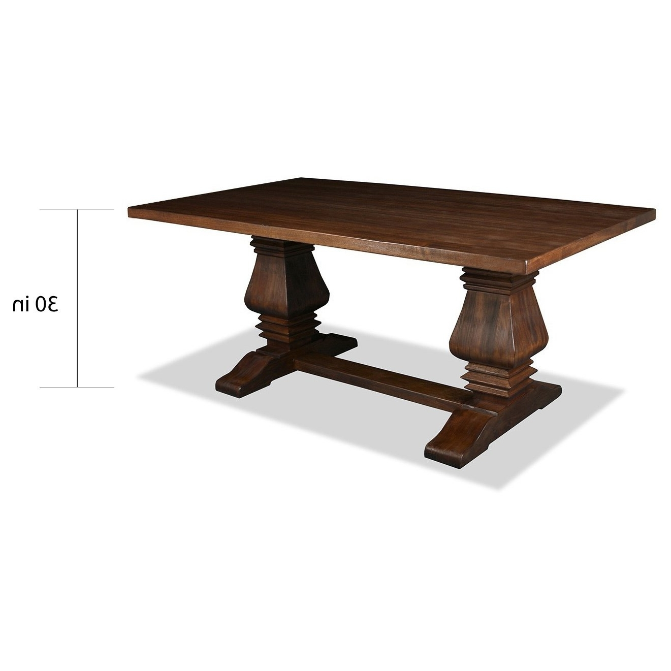 Shop Toscana Reclaimed Wood Rectangular Dining Table – Free Shipping With Regard To Well Known Toscana Dining Tables (View 3 of 25)