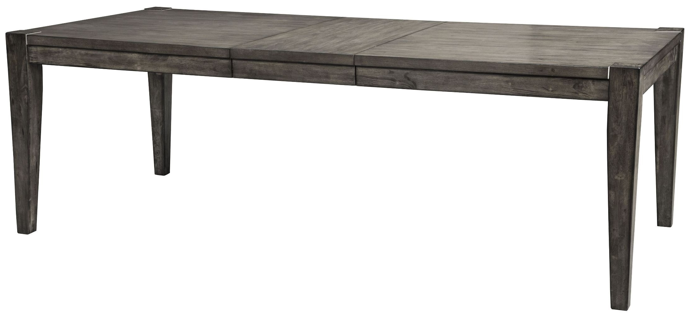 Signature Designashley Chadoni Gray Rectangular Extendable Throughout Newest Craftsman Rectangle Extension Dining Tables (View 23 of 25)