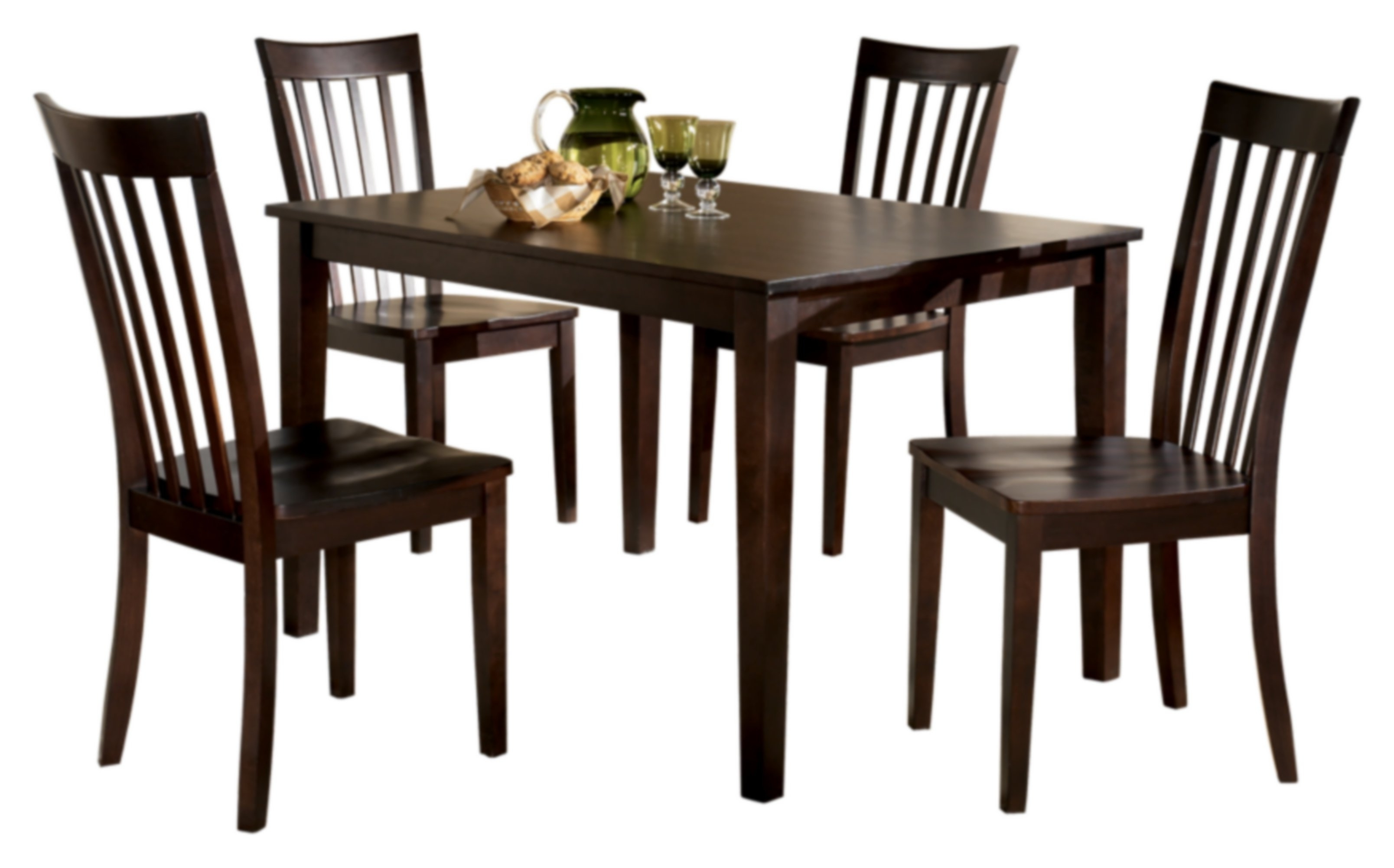 Signature Designashley Hyland 5 Piece Dinette Set & Reviews In 2017 Hyland 5 Piece Counter Sets With Bench (View 9 of 25)