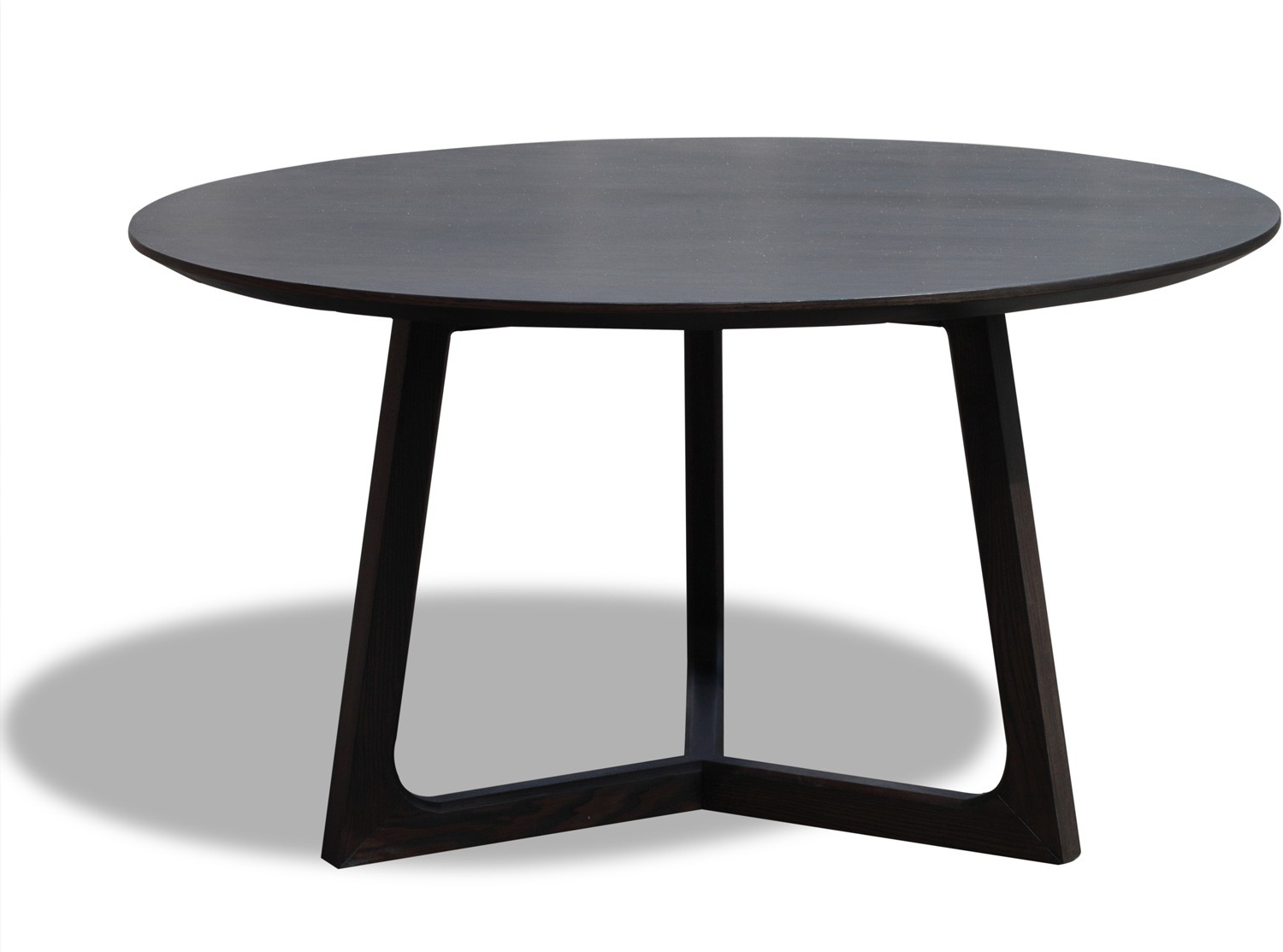 Significance Of Black Round Dining Tables – Home Decor Ideas Regarding Well Known Dark Round Dining Tables (View 23 of 25)