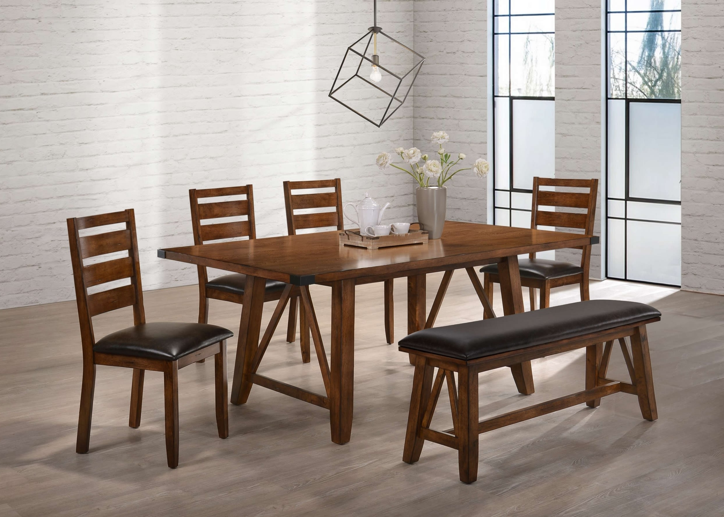 Simmons Upholstery 5022 72, 5022 51, 5022 52, 5022 52 Logan Valsp Intended For Most Popular Logan 6 Piece Dining Sets (View 22 of 25)
