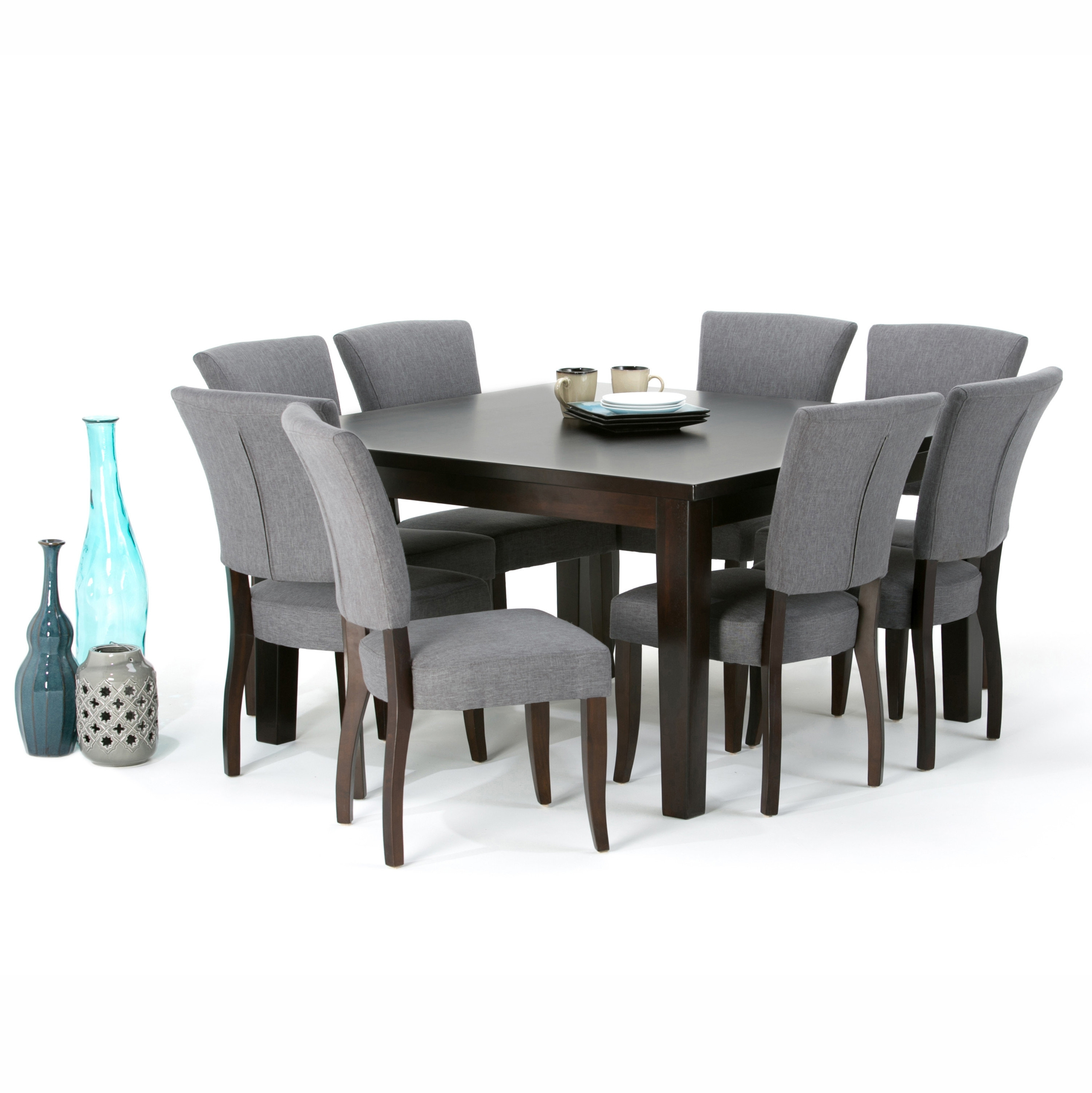 Simpli Home Joseph 9 Piece Dining Set (View 10 of 25)