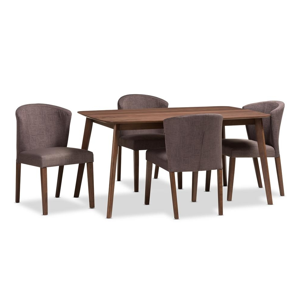 Simpli Home Walden 9 Piece Java Brown Dining Set Axcds9Wa G – The With Most Recently Released Walden 7 Piece Extension Dining Sets (View 19 of 25)