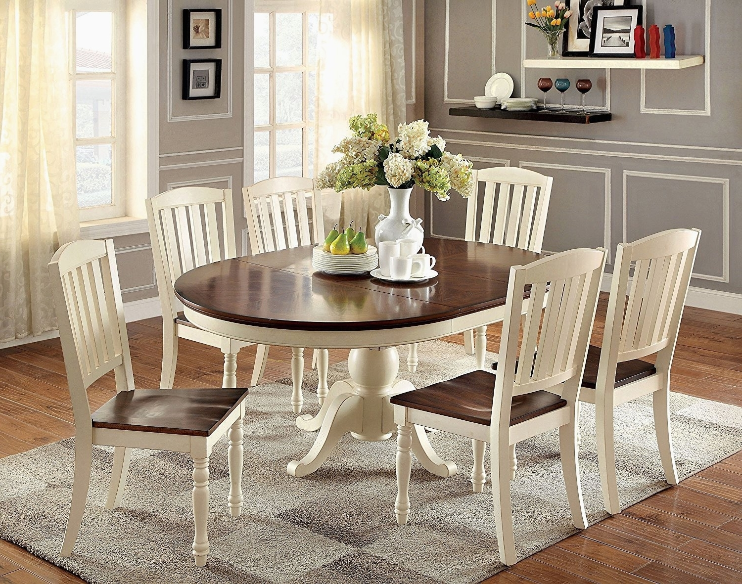 Six Chair Dining Table New Amazing 6 Chair Dining Table Set Virginia With 2017 6 Seater Round Dining Tables (View 23 of 25)