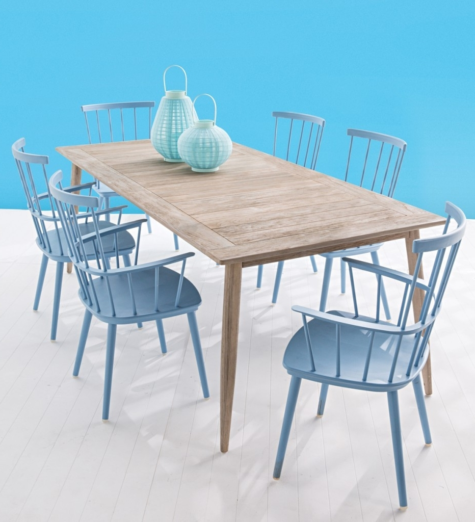 Sleek Dining Tables Regarding Most Recent Outdoor Furniture Launch: 6 Of Our Faves – Domayne Style Insider (View 18 of 25)
