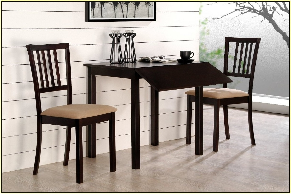 Small Dining Table Set – Furniture Ideas Throughout Best And Newest Compact Dining Tables And Chairs (View 21 of 25)