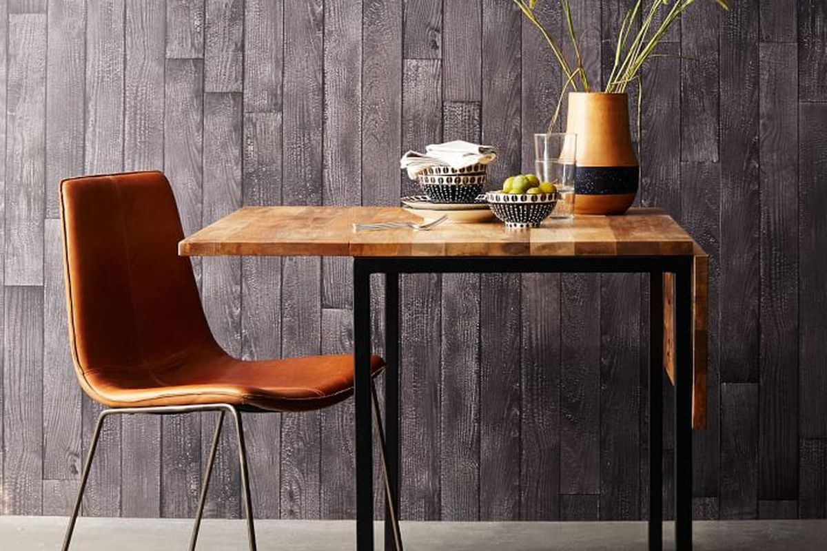 Small Dining Tables For Apartments – Curbed Inside 2017 Mango Wood/iron Dining Tables (View 22 of 25)