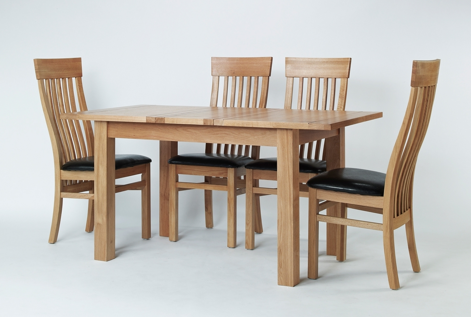 Small Extending Dining Tables And 4 Chairs Intended For Best And Newest Sherwood Oak Small Extending Dining Table 4 Or 6, Oak Extending (View 15 of 25)