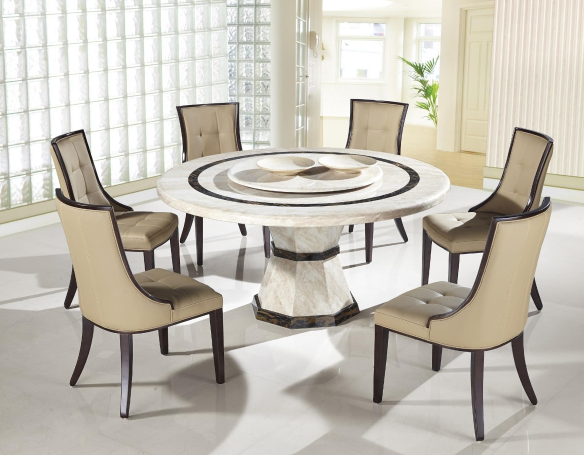 Small Round Dining Table For 4 Inspirational Luxury Contemporary For Preferred Contemporary Dining Room Chairs (View 21 of 25)