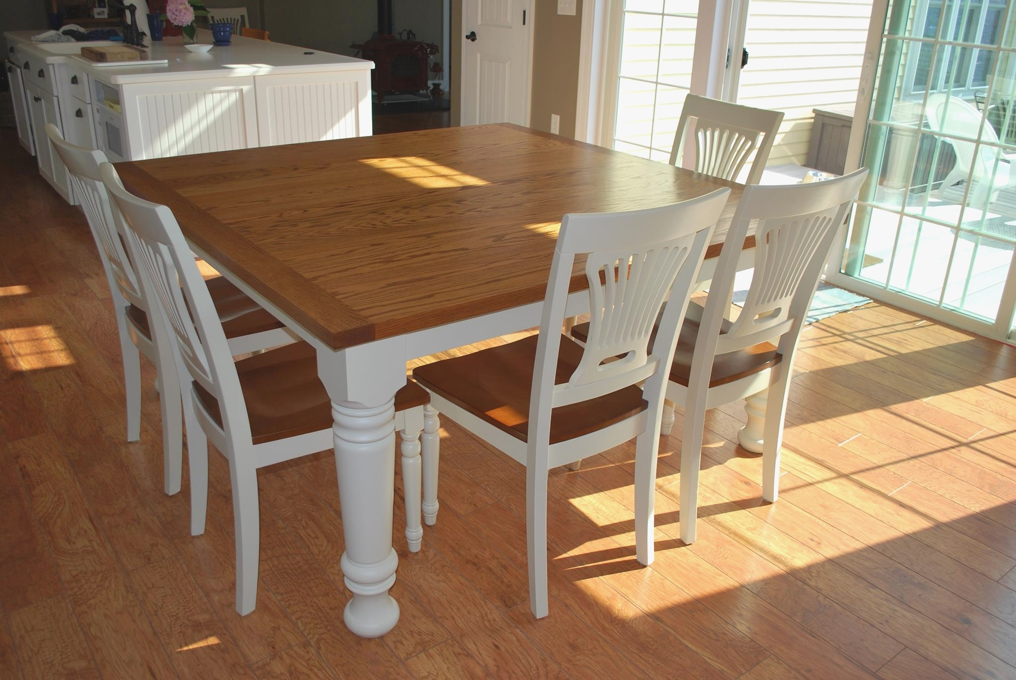 Small White Extending Dining Tables Regarding Most Current Small White Kitchen Table And Chairs Elegant Solid Oak Small Draw (View 20 of 25)