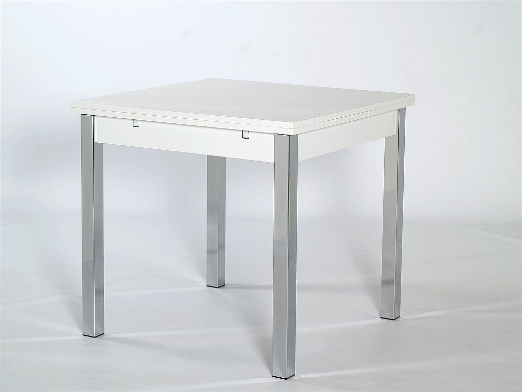 Small White Extending Dining Tables With 2018 Small Extendable Dining Table – Furniture Ideas (View 6 of 25)