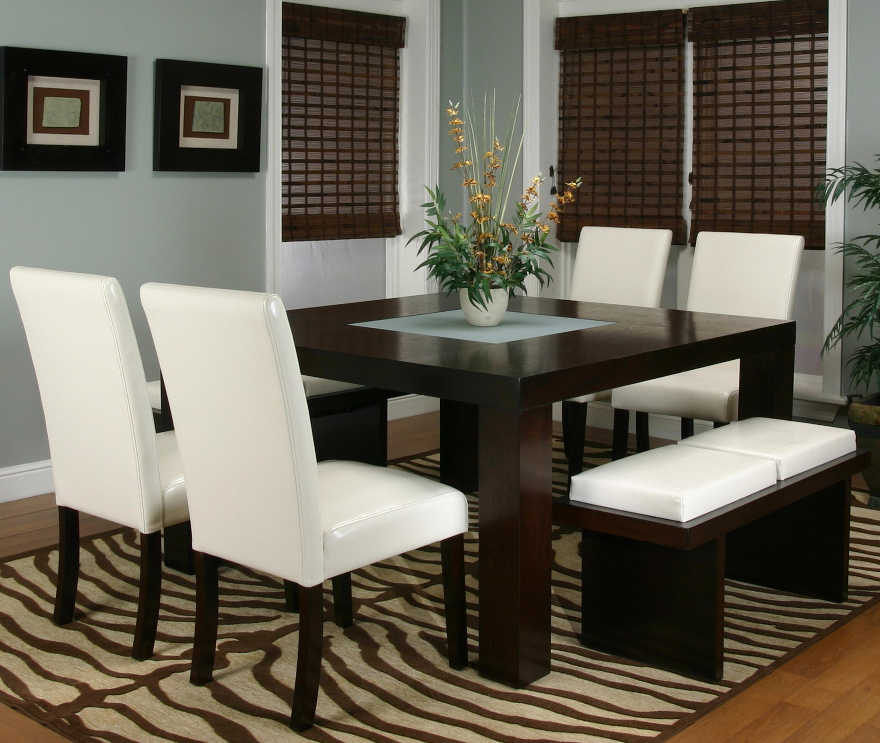 Smoked Glass Dining Tables And Chairs Inside Most Up To Date Seven Piece Dining Setcramco, Inc (View 12 of 25)