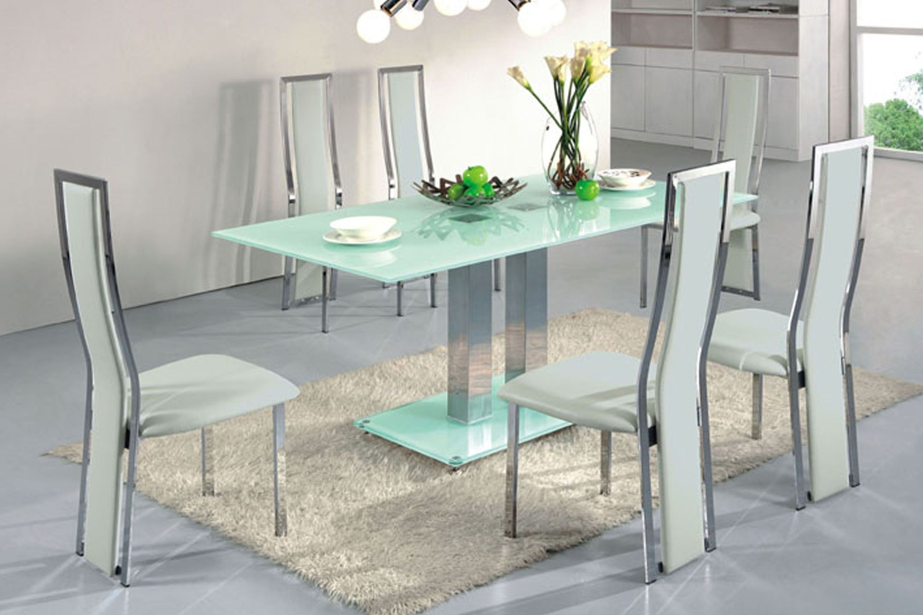 Smoked Glass Dining Tables And Chairs Intended For Most Current Round Smoked Glass Dining Table Elegant Modern Oval Glass Top Dining (View 20 of 25)