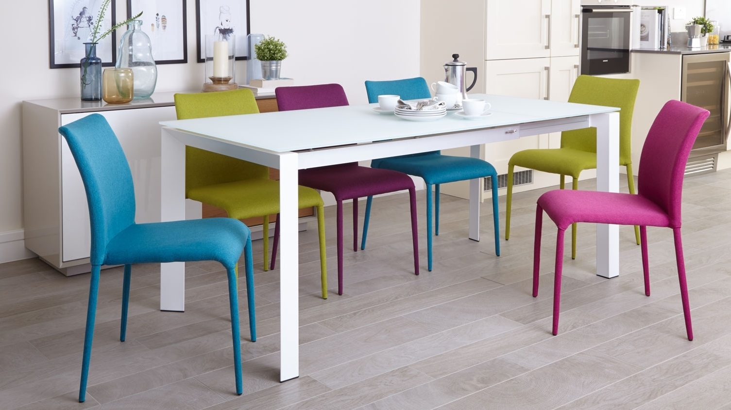 Smoked Glass Dining Tables And Chairs Throughout Favorite White Frosted Glass Dining Table (View 21 of 25)