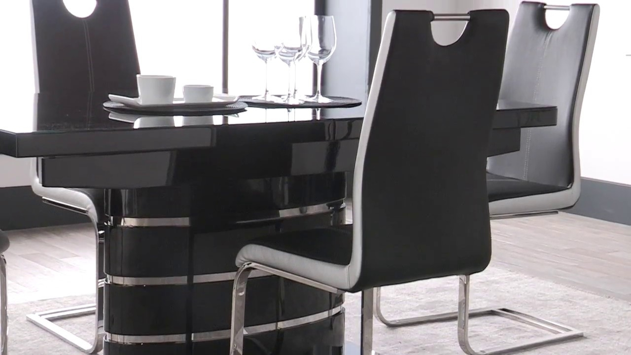 Soho Black – Youtube Regarding Best And Newest Scs Dining Furniture (View 22 of 25)