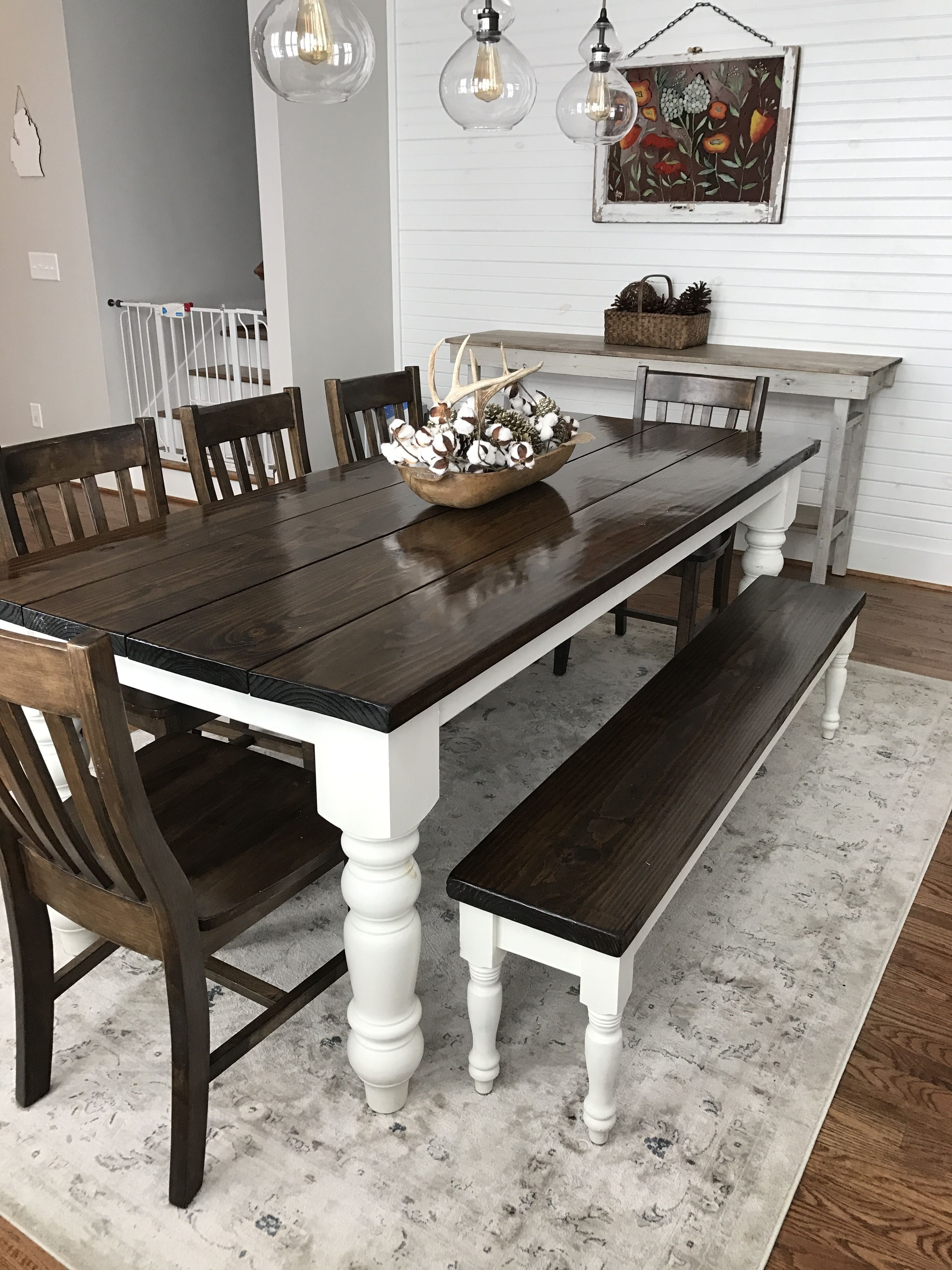 Solid Dark Wood Dining Tables Intended For Favorite Baluster Turned Leg Table (View 2 of 25)