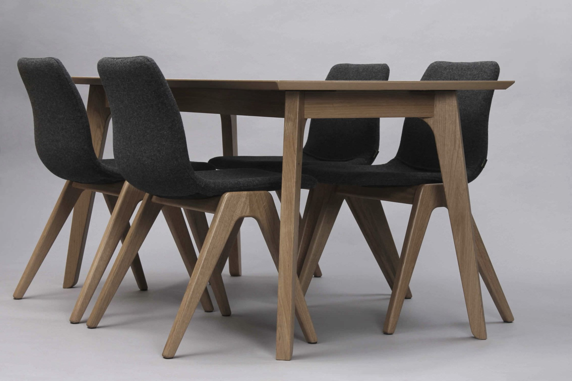 Solid Oak Dining Tables Within Well Known Contemporary Dining Table / Oak / Solid Wood / Rectangular – Dalby (View 25 of 25)