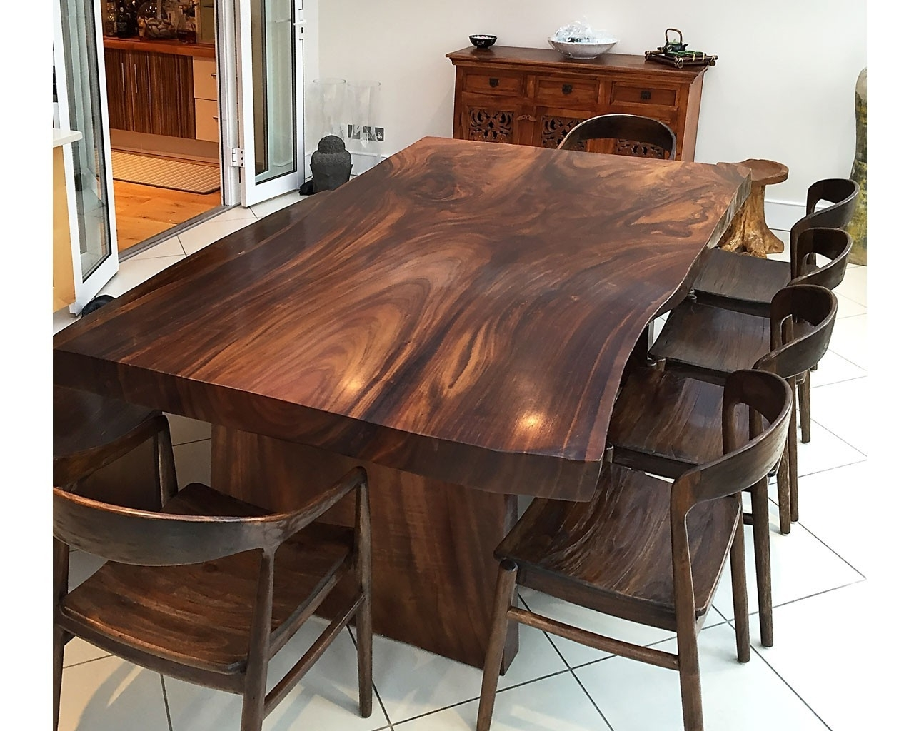 Solid Wood Dining Tables With Favorite Solid Wood Dining Tables – Soulpower (View 16 of 25)