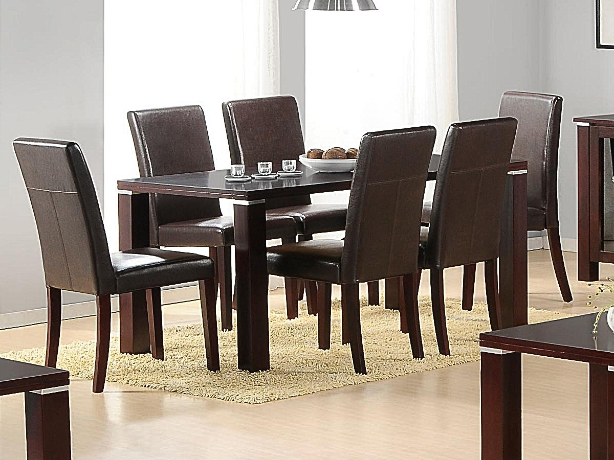 Spartan Dining Table And 6 Chairs – Forever Furnishings For Most Recent 6 Seat Dining Tables (View 25 of 25)