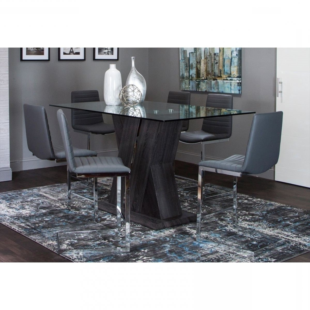 Sprint 5 Pc Counter Height Dining (View 15 of 25)
