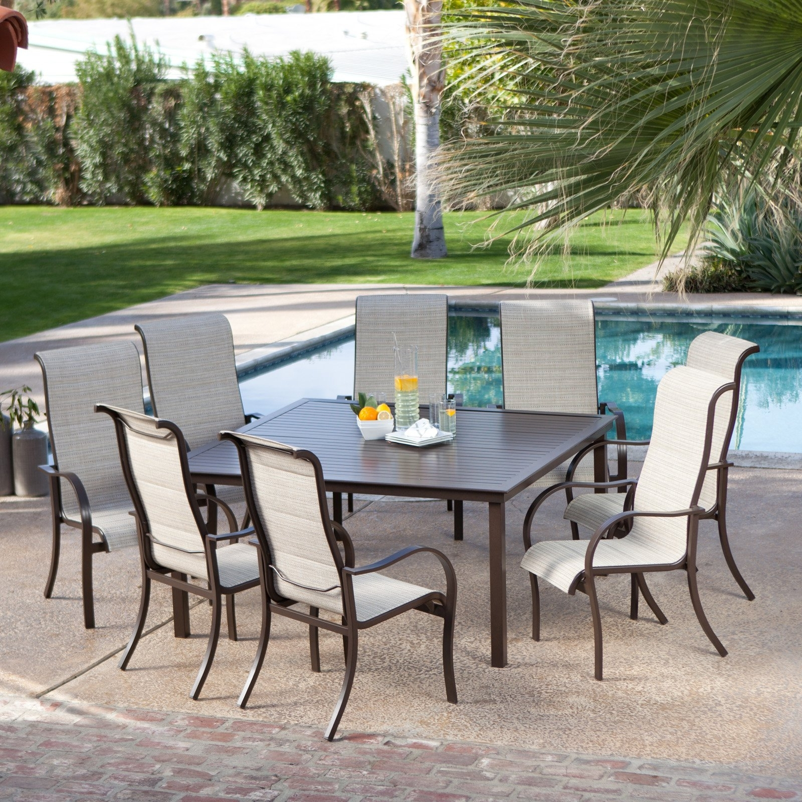 Square 8 Seat Patio Table • Patio Ideas In 2017 8 Seat Outdoor Dining Tables (View 3 of 25)