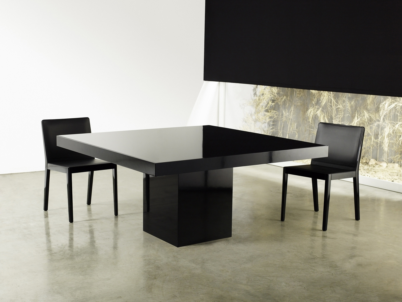 Square Contemporary High Gloss Dining Table Lexington Fayette Intended For Latest Contemporary Dining Tables (View 25 of 25)