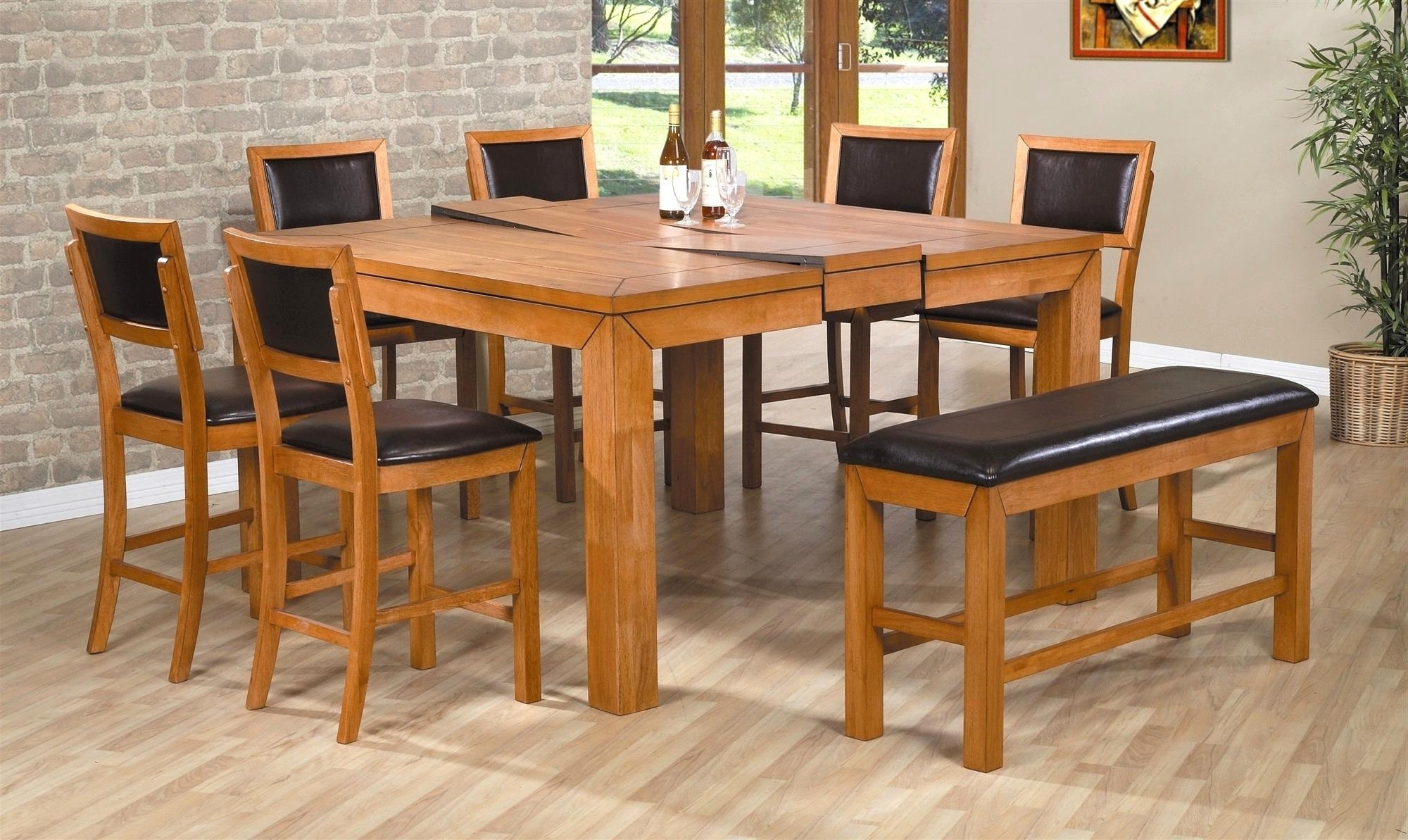 Square Extending Dining Tables Within 2018 Luxuriant Good Expandable Dining Table Small Pic Expandable Dining (View 13 of 25)