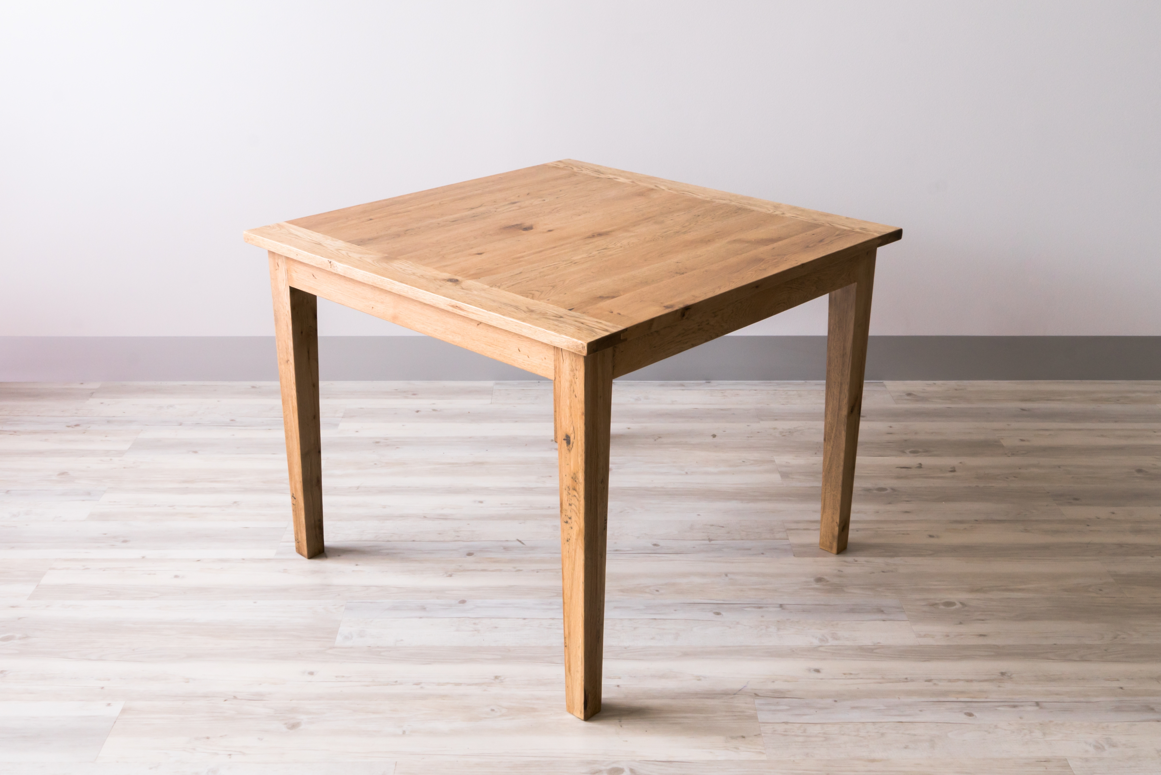 Square Oak Dining Tables For Well Liked Square Oak Dining Table 100Cm (View 23 of 25)