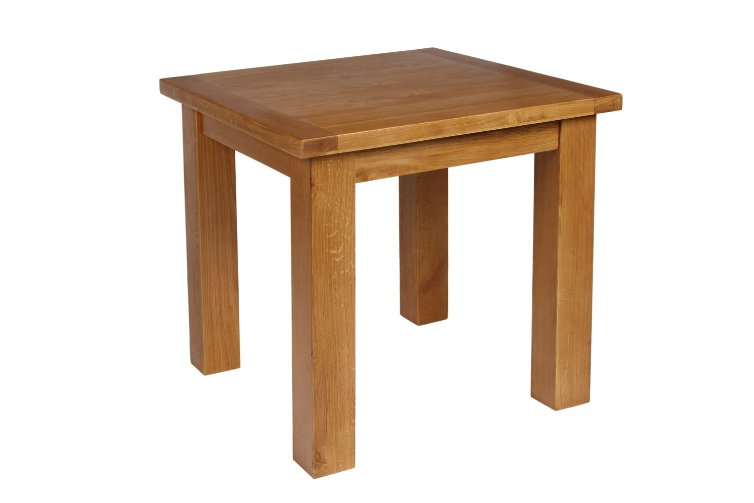 Square Oak Dining Tables Inside Well Known Small Square Oak Dining Table – Free Delivery (View 7 of 25)