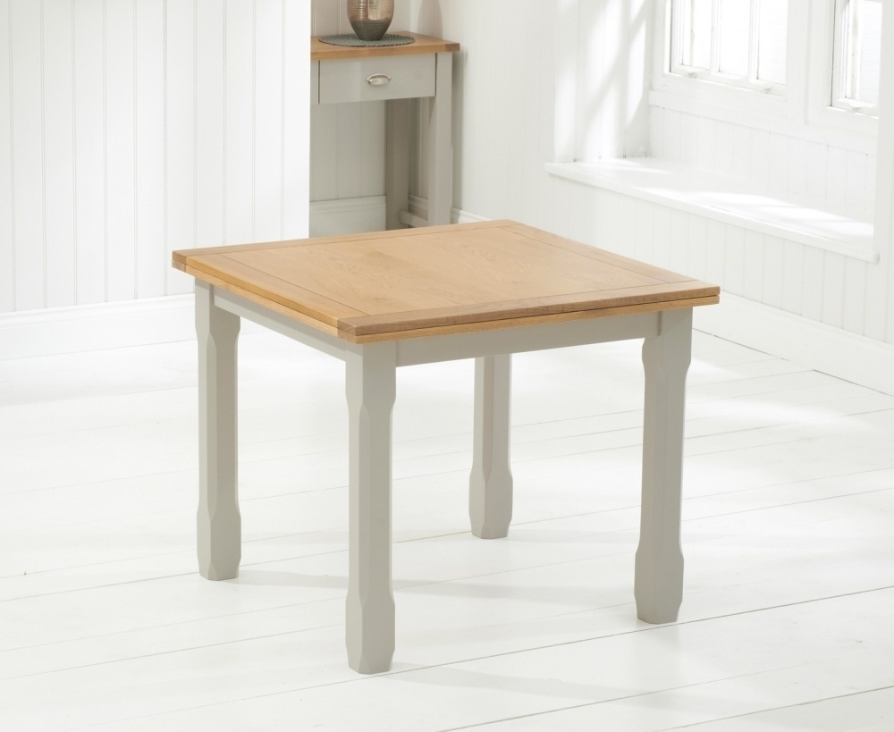 Square Oak Dining Tables Regarding Fashionable Buy Mark Harris Sandringham Solid Oak Dining Table – 90Cm Square (View 19 of 25)