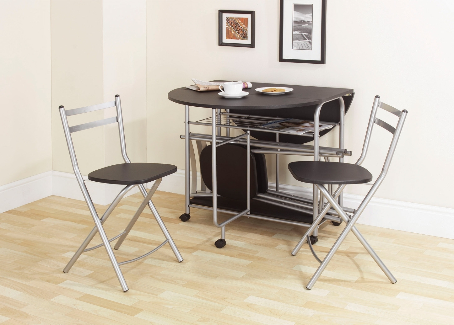 Stowaway Dining Tables And Chairs For Well Liked Stowaway Dining Set Black –  (View 15 of 25)