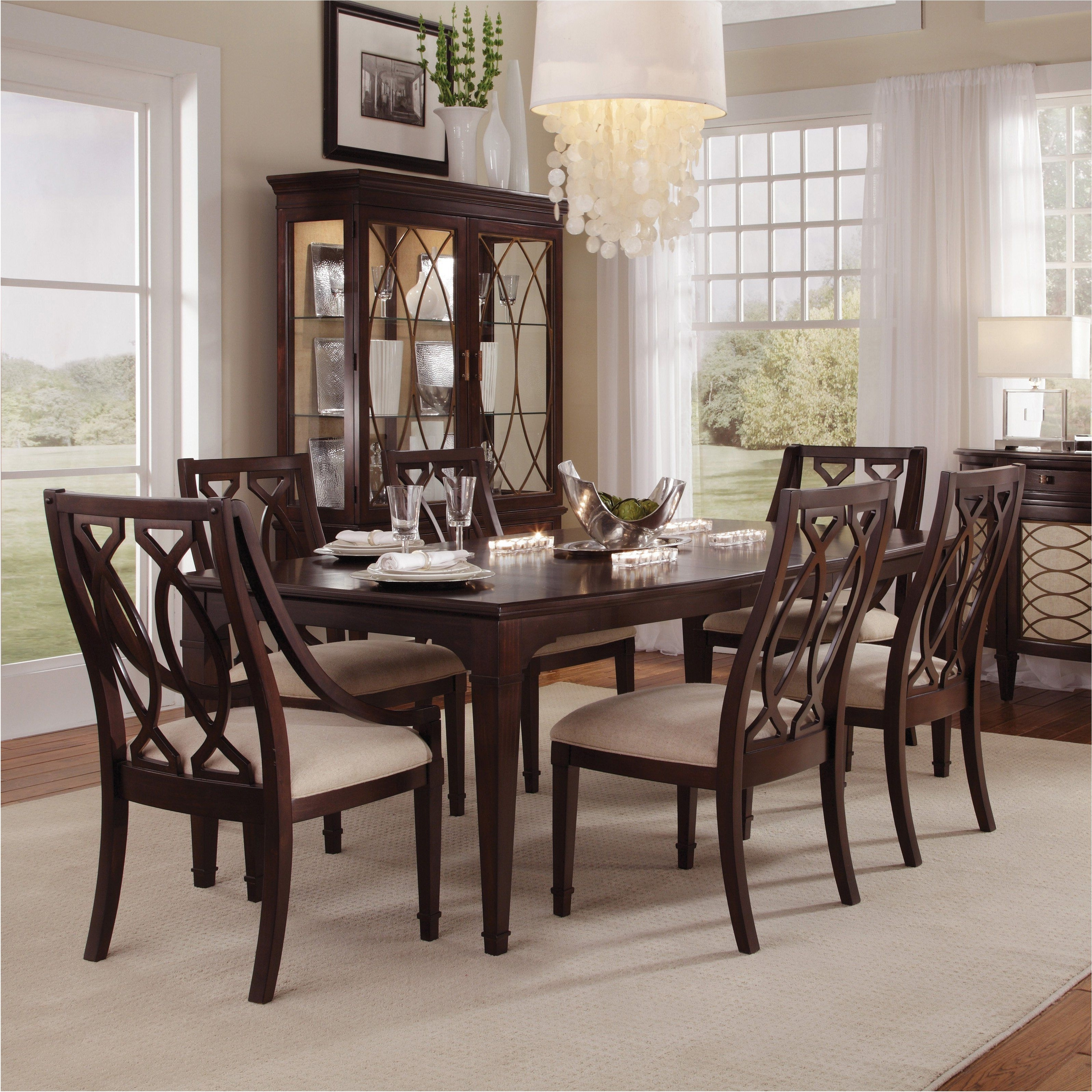 Stunning Dark Wood Dining Room Set Room Ideas – Dark Wood High Top Pertaining To Most Current Dark Wood Dining Room Furniture (View 21 of 25)