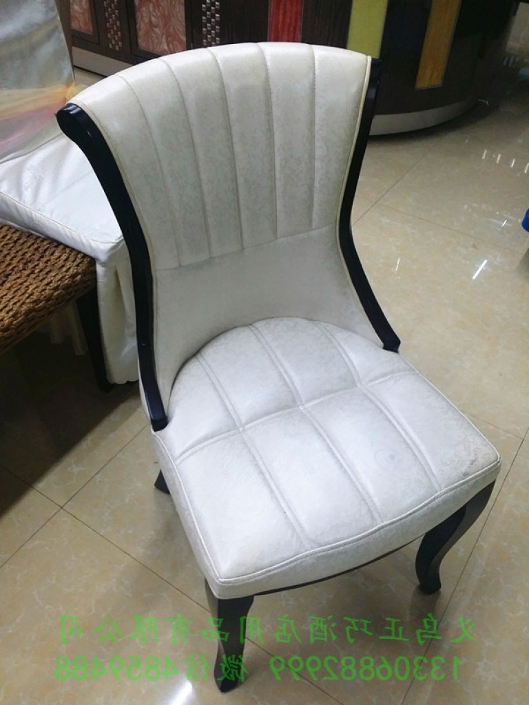 Stylish Dining Chairs Within Fashionable Supply Upscale Hotel Durable Solid Wood Dining Chairs Korean Style (View 20 of 25)