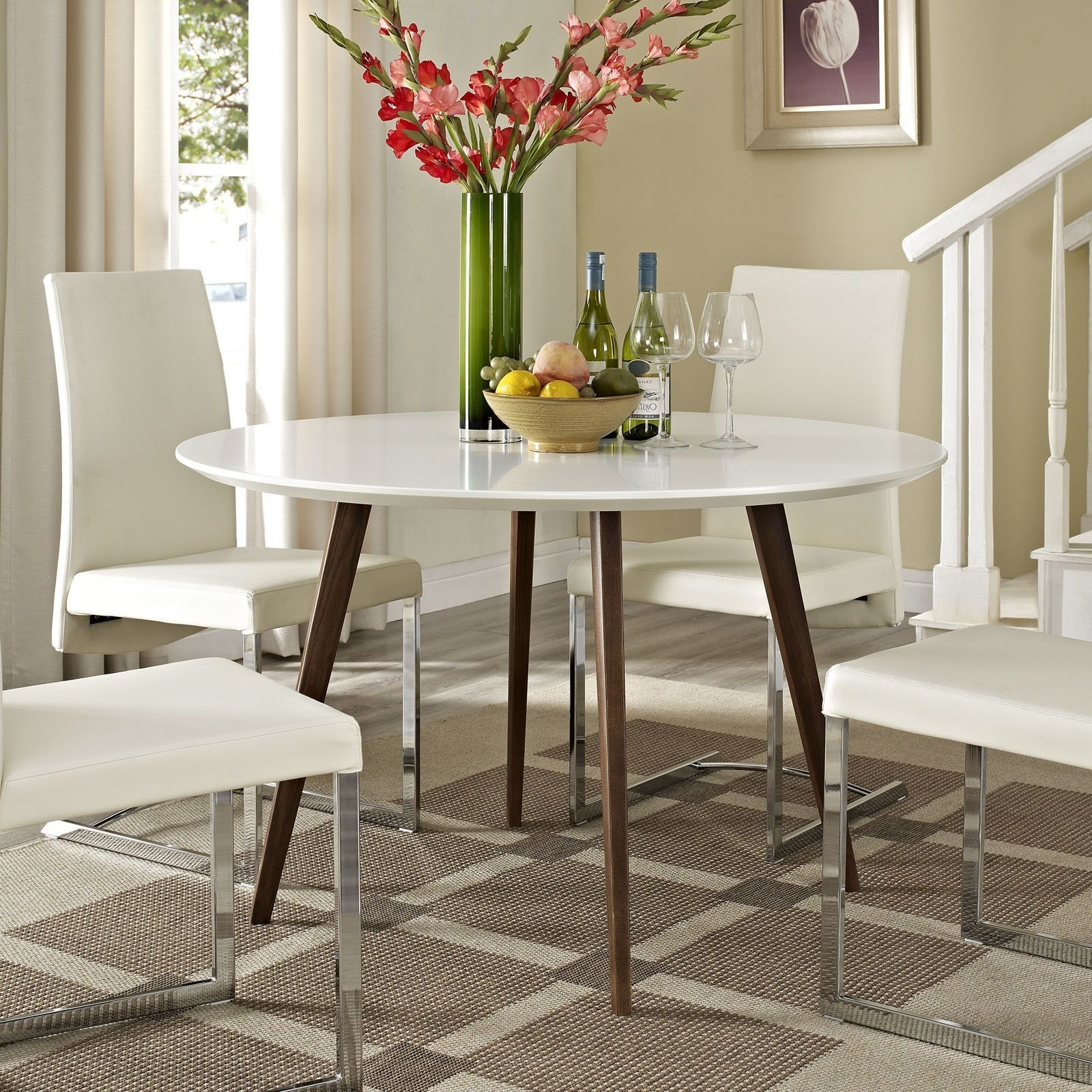 Stylish Kitchen With Best And Newest Candice Ii 6 Piece Extension Rectangle Dining Sets (View 20 of 25)