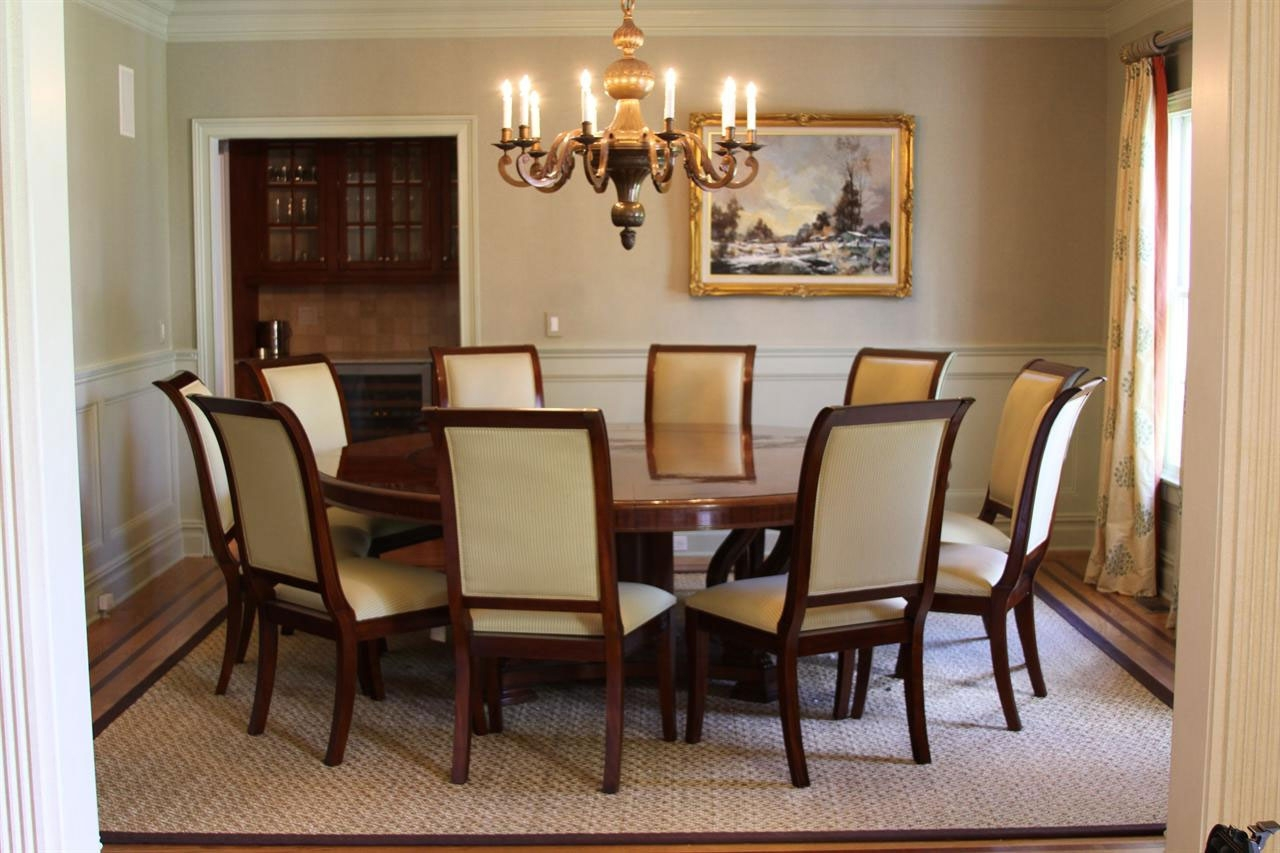 Stylishoms In Well Known 6 Seat Round Dining Tables (View 15 of 25)