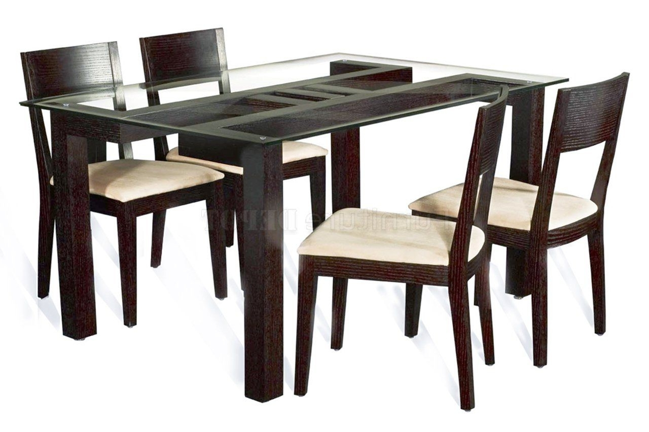 Table Intended For Wooden Glass Dining Tables (View 18 of 25)