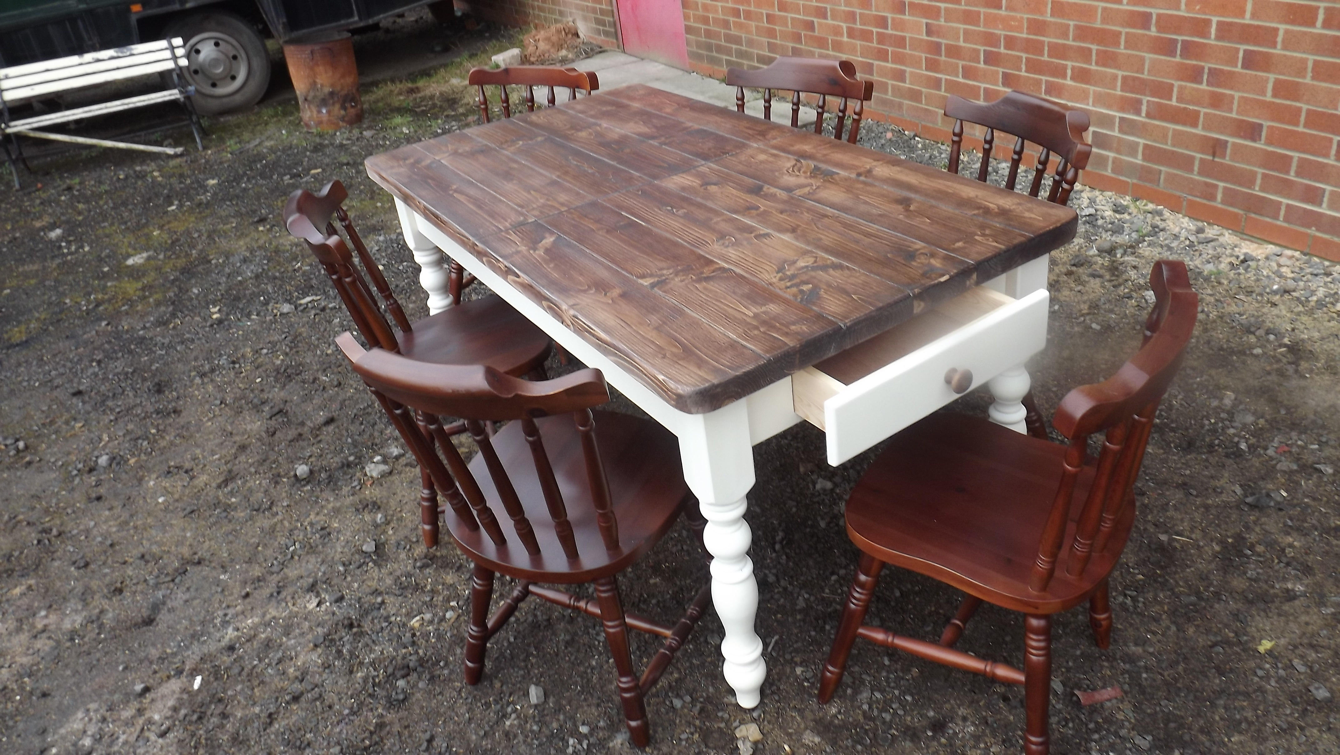 Tables For Sale – Shabby Chic Bazaar In Favorite Shabby Chic Extendable Dining Tables (View 6 of 25)