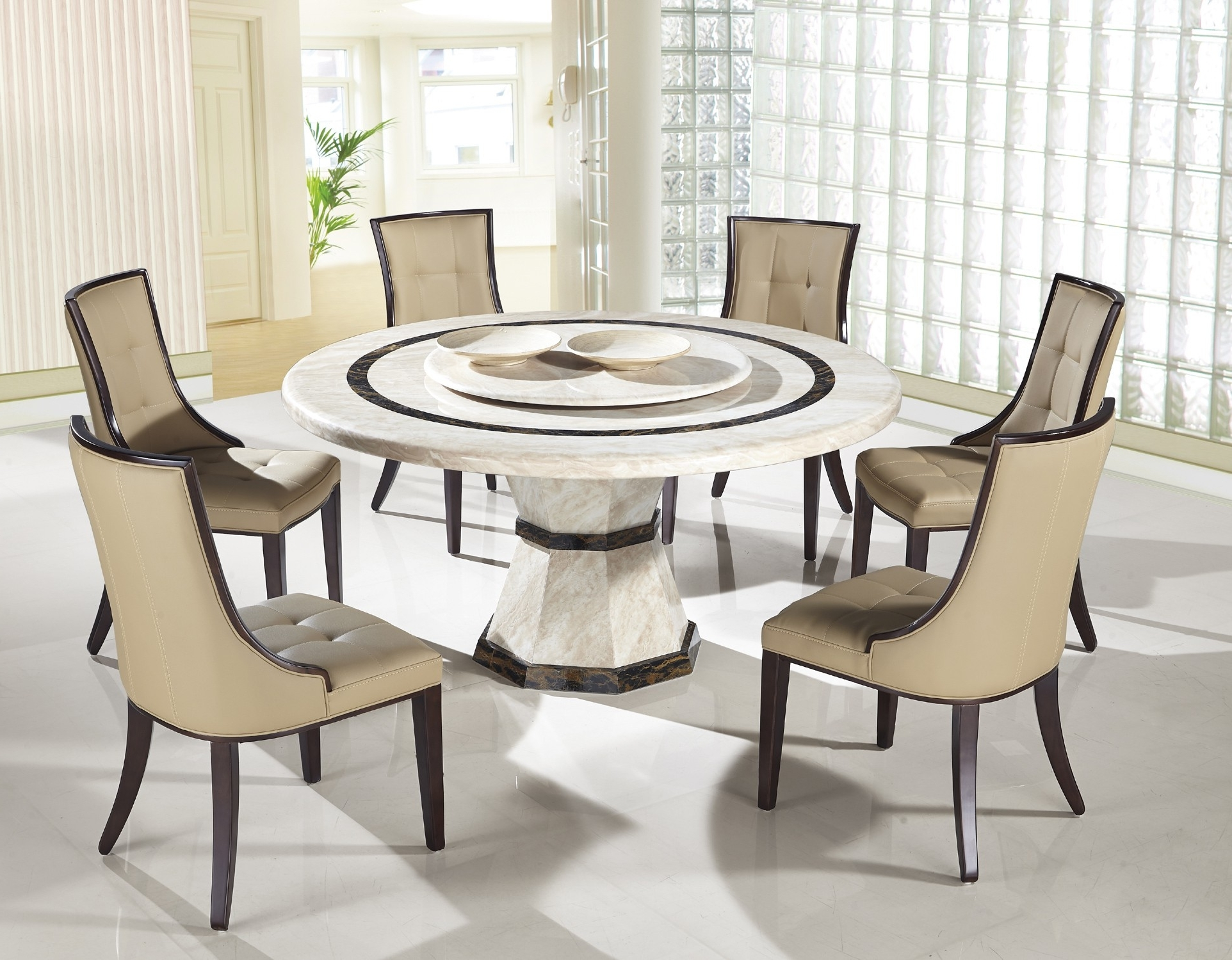 Take Advantage Of Modern Glass Dining Table – Home Decor Ideas Intended For Fashionable Modern Dining Sets (View 19 of 25)