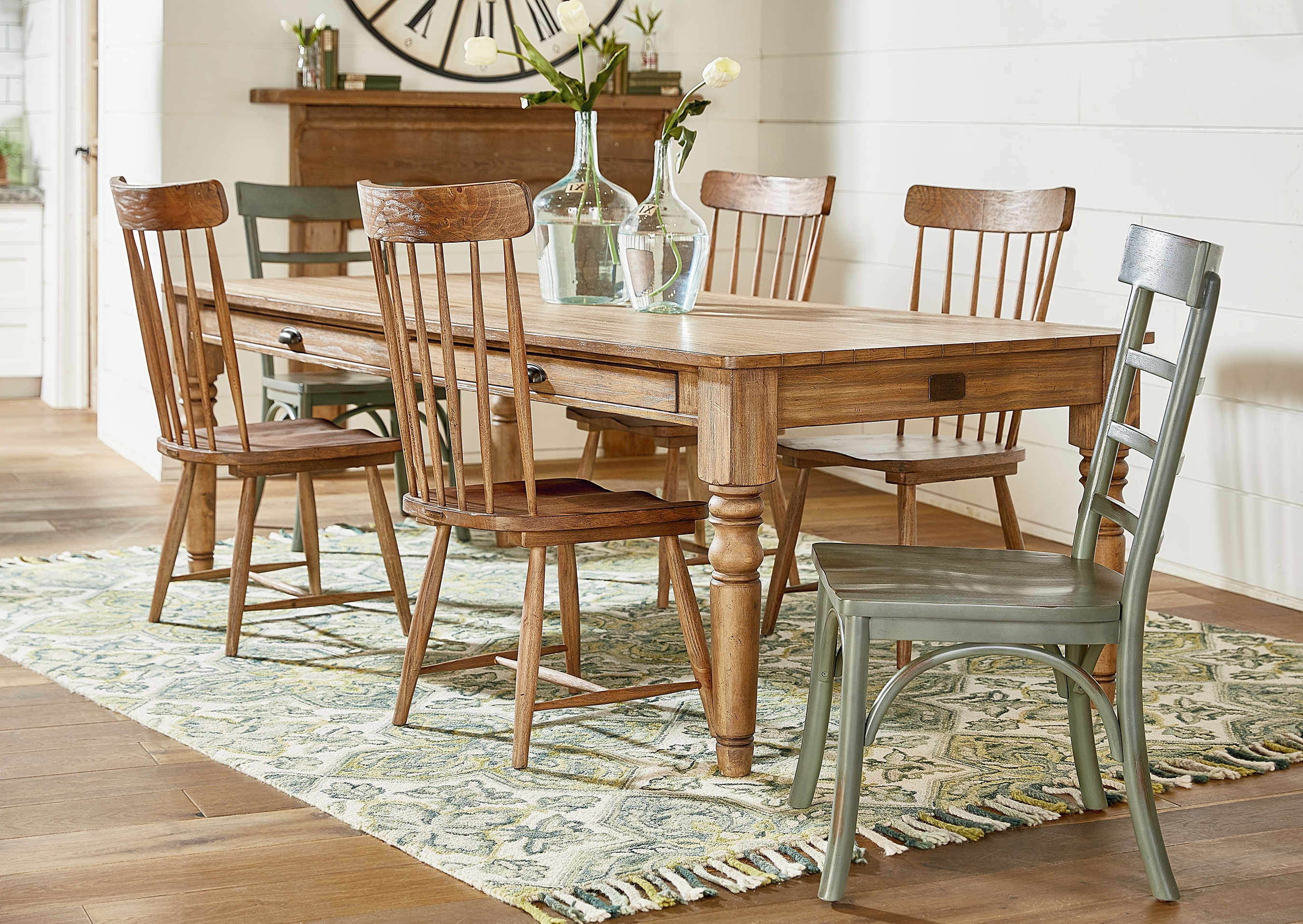 Taper Turned Dining Table – Magnolia Home For Well Known Magnolia Home Bench Keeping 96 Inch Dining Tables (View 24 of 25)