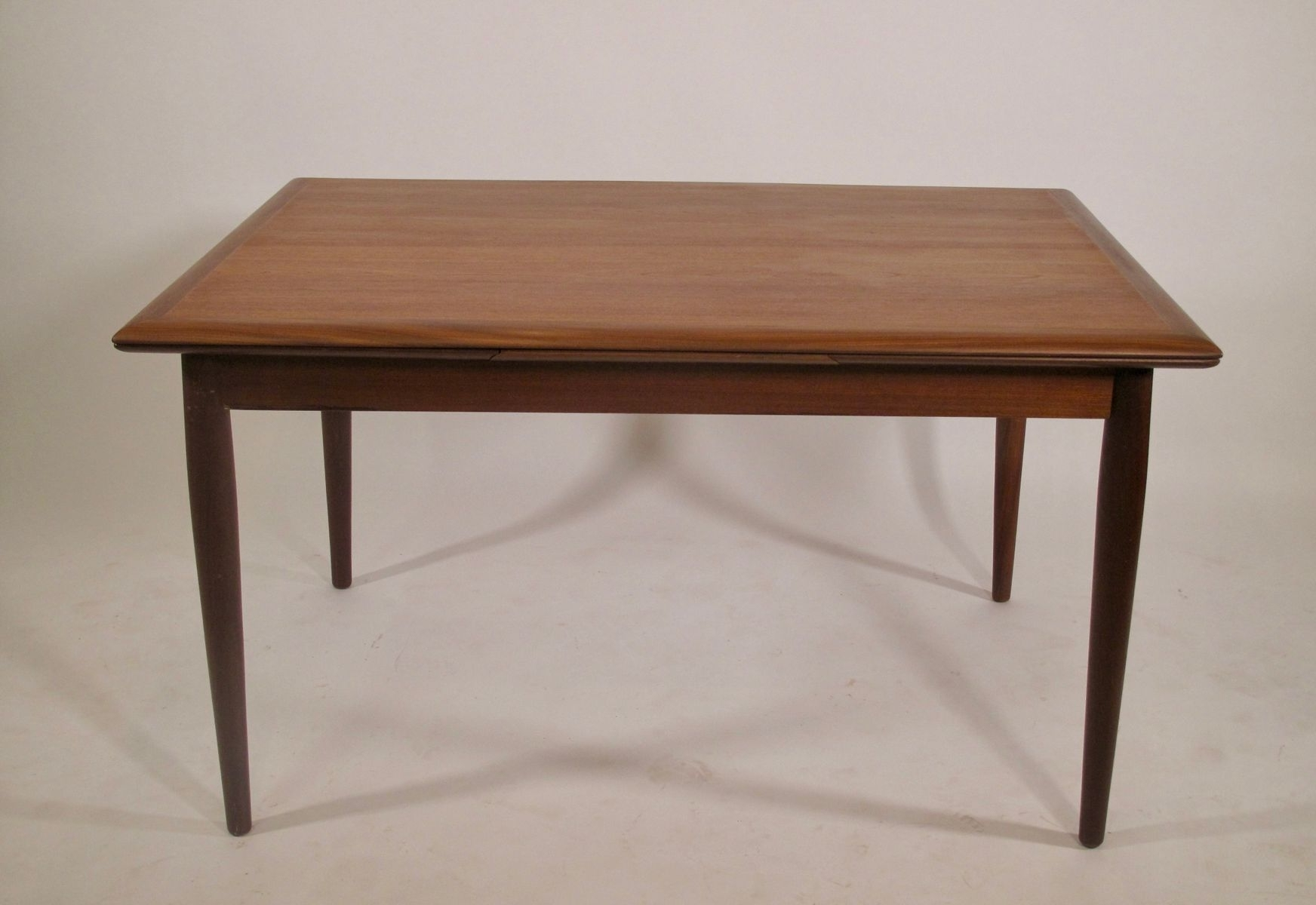 Teak Danish Dining Table, 1960S For Sale At Pamono Within 2018 Danish Dining Tables (View 23 of 25)